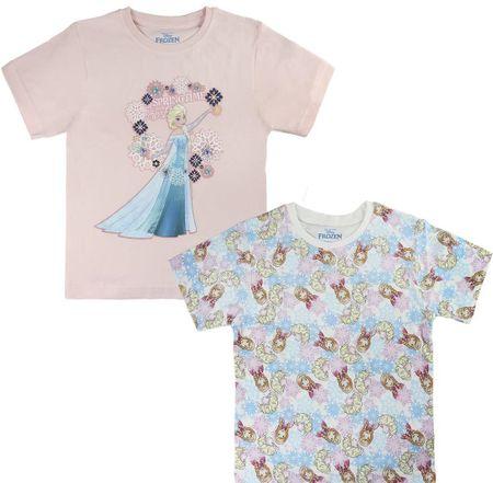 Disney zestaw koszulek dziewczęcych Frozen 104 różowy