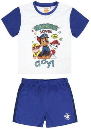 Disney piżama chłopięca Paw Patrol 92 biały/niebieski