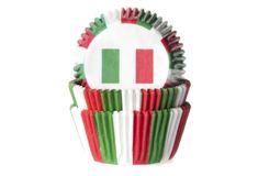 House of Marie Košíček na muffiny vlajka Itálie 50ks