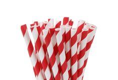 Papírové tyčinky na cake pop červené 20ks 15cm