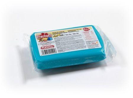 Kelmy Potahovací hmota 250 g - nebeská modř