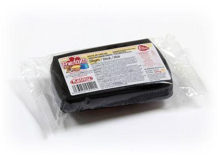 Kelmy Potahovací hmota 250 g - černá