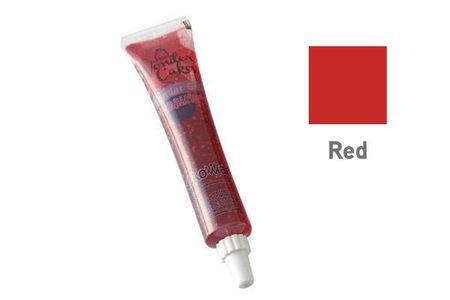 Silikomart Barevný jedlý gel- červená 25g