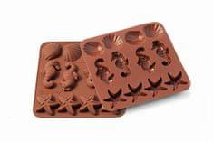 Silikomart Silikonová forma na čokoládu moře