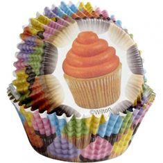 Wilton Barevné košíčky Cupcakes 36 ks