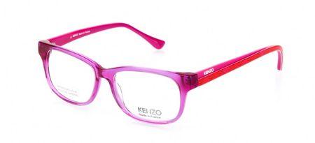 Kenzo damskie różowe oprawki do okularów