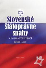Bobák a kolektív Ján: Slovenské štátoprávne snahy v dvadsiatom storočí