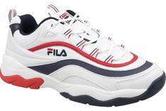 FILA Ray F Low 1010578-01M 45 Białe