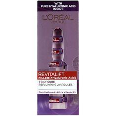 Loreal Paris Revitalift Filler bőrfeltöltő arcápoló hialuronsavval (Hyaluronic Acid) 7 x 1,3 ml