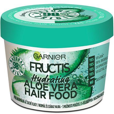 Garnier Fructis hidratáló maszk normál és száraz hajra (Aloe Vera Hair Food) 390 ml