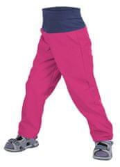 Unuo dívčí softshellové kalhoty bez zateplení