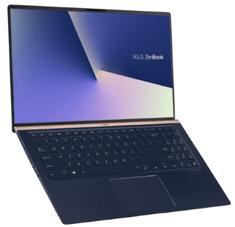 Asus prenosnik ZenBook 15 UX533FD-A8011T i7-8565U/8GB/SSD256GB/GTX1050/15,6FHD/W10H (90NB0JX1-M02650)