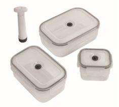 Compactor Aspi Fresh - 3-djelni set plastičnih posuda za hranu
