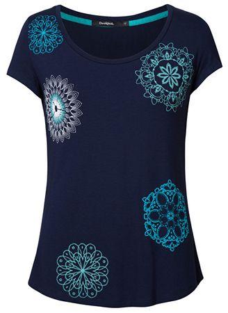 Desigual T-shirt damski TS Sonja Marino 19SWTKA1 5001 (rozmiar M)