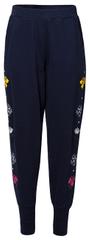Desigual Spodnie z dresu damskiePant Katya Navy 19SWPK07 5000