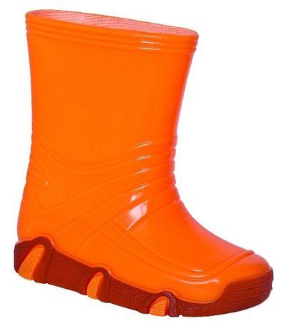 Zetpol gyermek gumicsizma Neon Vizimanó 21.5 narancssárga