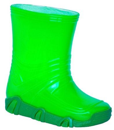 Zetpol fiú gumicsizma Neon Vizimanó 21.5 zöld