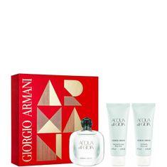 Armani set Acqua Di Gioia parfemska voda + losion za tijelo + gel za tuširanje