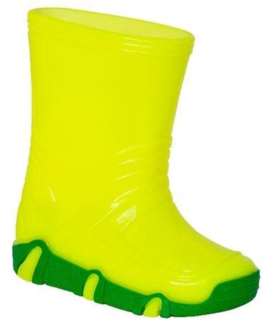 Zetpol fantovski škornji Neon Vodnik, 21,5, rumeni