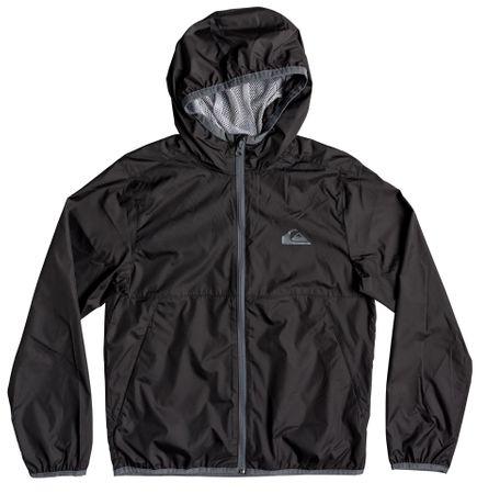 Quiksilver chlapecká bunda Contrasted 152 čierna