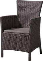 Allibert IOWA Kerti szék párnával