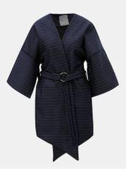 ELVI modré vzorované kimono