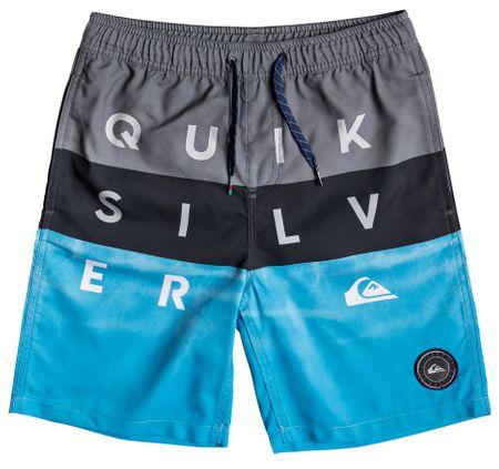Quiksilver fiú fürdőruha Word Blocks Volley 128 szürke/kék