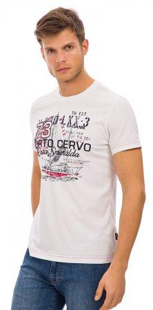 Galvanni pánské tričko Bogense M bílá
