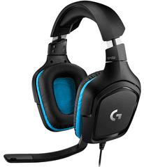 Logitech gaming slušalice G432, 7.1