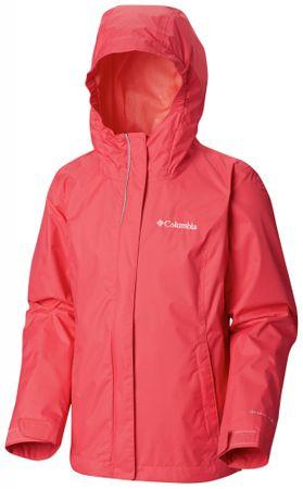 Columbia dívčí bunda Arcadia 110 červená