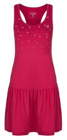 Loap ženska obleka, XS, roza/siva - odprta embalaža
