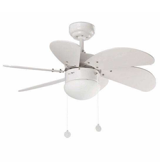 "FARO Barcelona PALAO 33180 31,8"" bílá/bílá Reverzní stropní ventilátor"