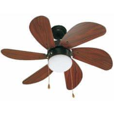 """FARO Barcelona PALAO 33185 31,8"""" tmavě hnědá/mahagon Reverzní stropní ventilátor"""
