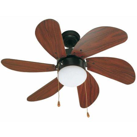 """FARO Barcelona PALAO 33185 31,8"""" sötét barna/mahagóni Reverzibilis mennyezeti ventillátor"""