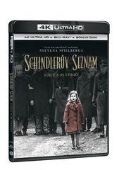 Schindlerův seznam - Výroční edice 25 let (3 disky) - Blu-ray + 4K Ultra HD