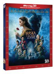Kráska a zvíře 3D+2D (2 disky) - Blu-ray