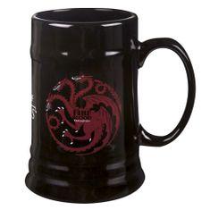 Game of Thrones Keramický korbel Targaryen (0,5 l.)