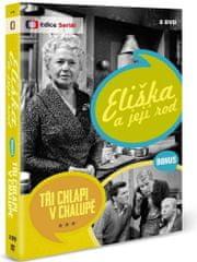 Eliška a její rod + Bonus: Tři chlapi v chalupě (8DVD) - DVD
