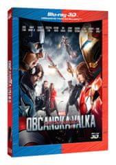 Captain America: Občanská válka 3D+2D (2 disky) - Blu-ray