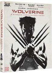The Wolverine 3D+2D (3 disky: 2D+3D film + 2D prodloužená verze) - Blu-ray