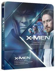 X-MEN Prequel 4-6 (3BD): X-Men: První třída, X-Men: Budoucí minulost, X-Men: Apokalypsa - Blu-ray