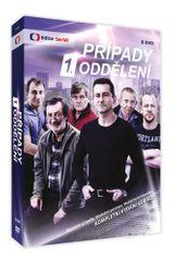 Případy 1. oddělení - Komplet 1.+ 2. série (8DVD) - DVD
