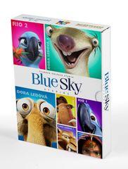 BlueSky kolekce (7DVD): Rio + Rio 2 + Doba ledová 1-4 + Království lesních strážců - DVD