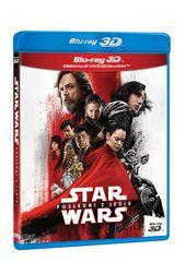 Star Wars Poslední z Jediů 3D+2D (3 disky: 3D+2D+ bonusový disk) - Blu-ray
