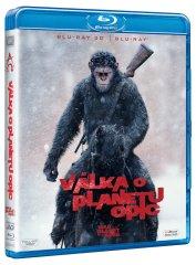 Válka o planetu opic 3D+2D (2 disky) - Blu-ray