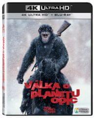 Válka o planetu opic (2 disky) - Blu-ray + 4K Ultra HD