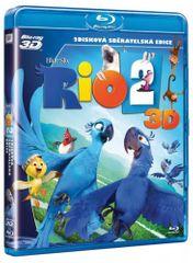 Rio 2 (2D + 3D verze) - Blu-ray