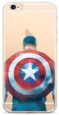 MARVEL Hátsó Borító az iPhone 6/7/8 Captain America 002 MPCCAPAM346 számára