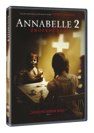 Annabelle 2: Zrození zla - DVD