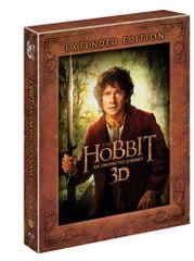 Hobit: Neočekávaná cesta - prodloužená verze 3D+2D (5 disků) - Blu-ray